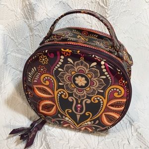 Vera Bradley Safari Sunset (retired) make-up bag